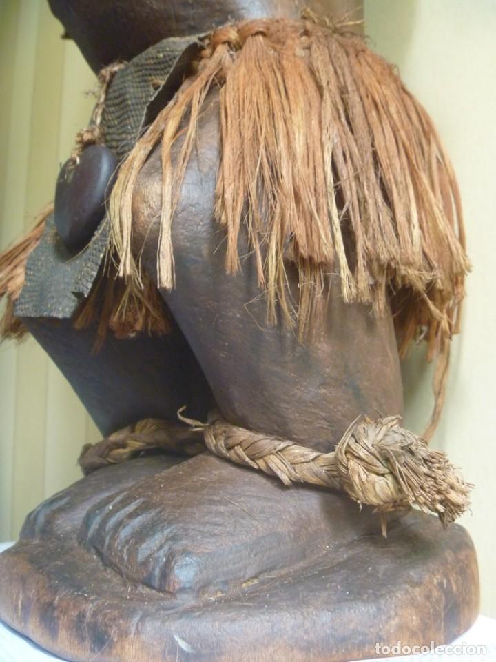 Arte: Impresionante Fetiche Nkisi Songye Congo 150 años Nkisi Songye fetish Congo 150 years Museum piece - Foto 7 - 263155640
