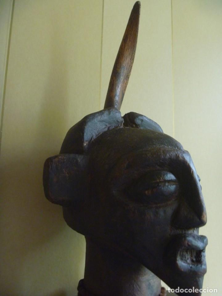 Arte: Impresionante Fetiche Nkisi Songye Congo 150 años Nkisi Songye fetish Congo 150 years Museum piece - Foto 8 - 263155640
