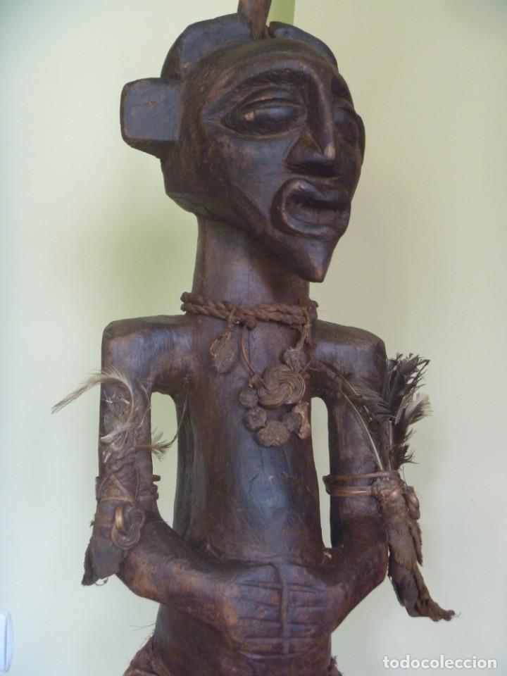 Arte: Impresionante Fetiche Nkisi Songye Congo 150 años Nkisi Songye fetish Congo 150 years Museum piece - Foto 13 - 263155640
