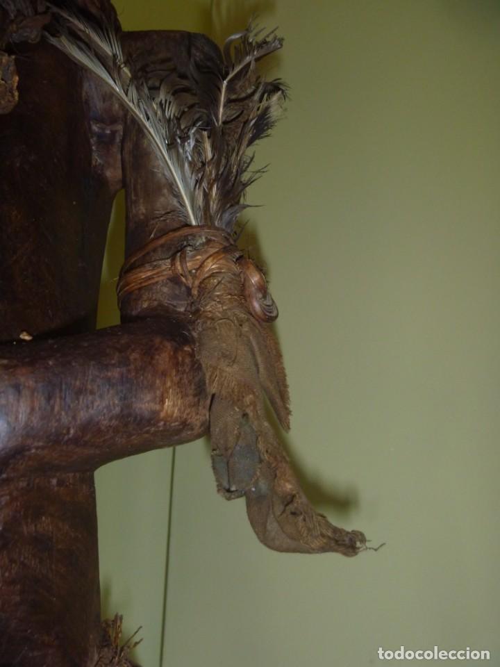 Arte: Impresionante Fetiche Nkisi Songye Congo 150 años Nkisi Songye fetish Congo 150 years Museum piece - Foto 15 - 263155640