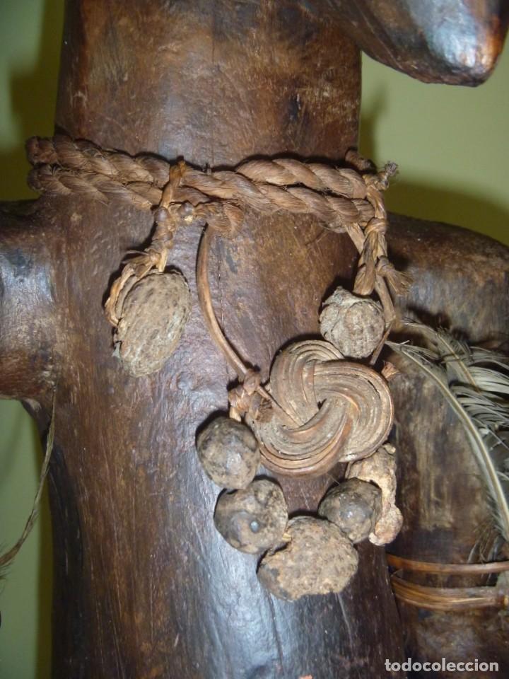 Arte: Impresionante Fetiche Nkisi Songye Congo 150 años Nkisi Songye fetish Congo 150 years Museum piece - Foto 16 - 263155640
