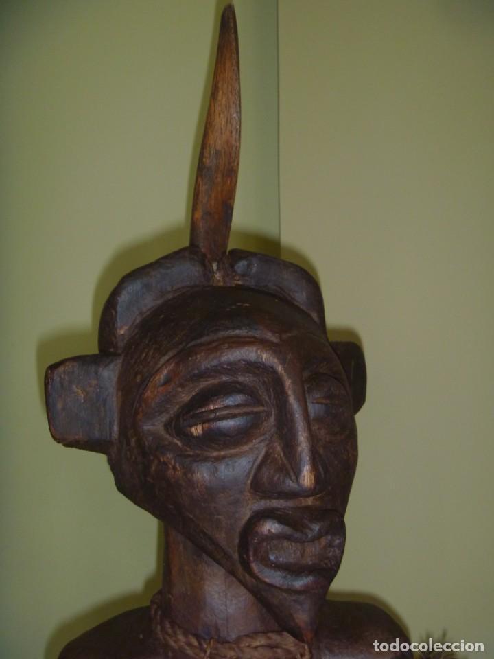 Arte: Impresionante Fetiche Nkisi Songye Congo 150 años Nkisi Songye fetish Congo 150 years Museum piece - Foto 17 - 263155640