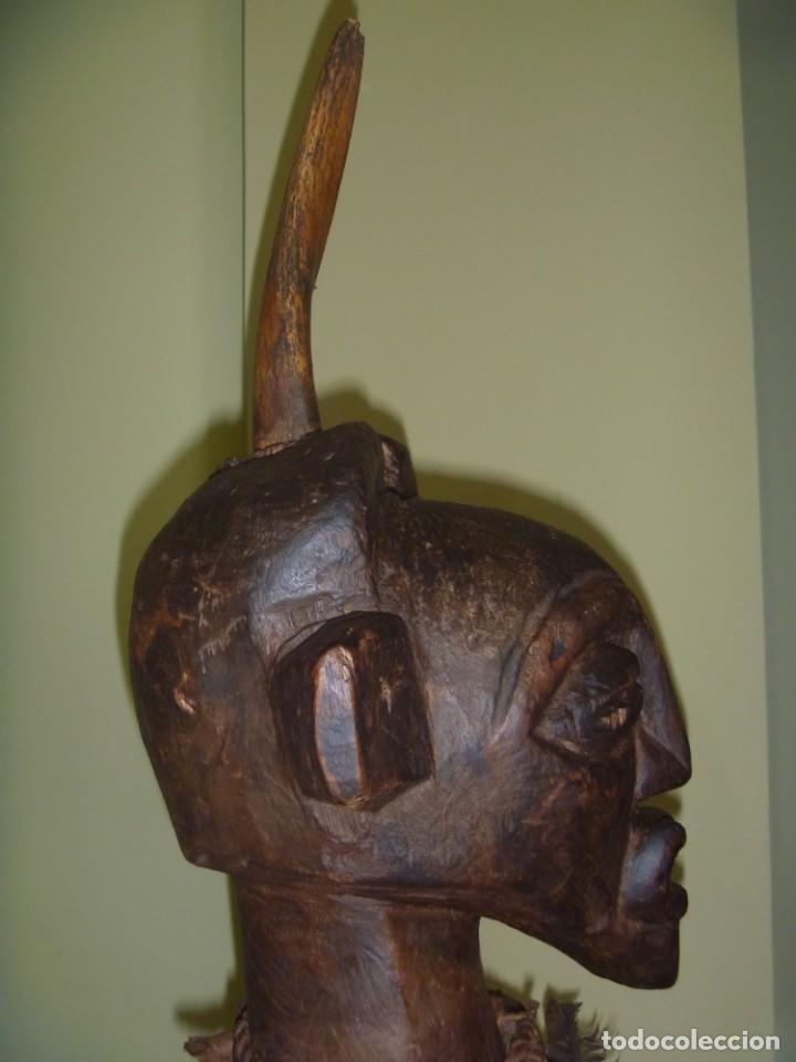 Arte: Impresionante Fetiche Nkisi Songye Congo 150 años Nkisi Songye fetish Congo 150 years Museum piece - Foto 18 - 263155640