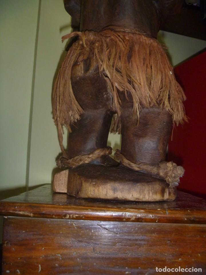 Arte: Impresionante Fetiche Nkisi Songye Congo 150 años Nkisi Songye fetish Congo 150 years Museum piece - Foto 21 - 263155640