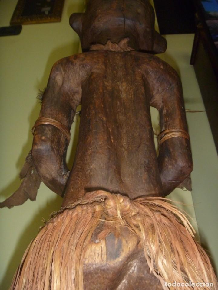 Arte: Impresionante Fetiche Nkisi Songye Congo 150 años Nkisi Songye fetish Congo 150 years Museum piece - Foto 23 - 263155640