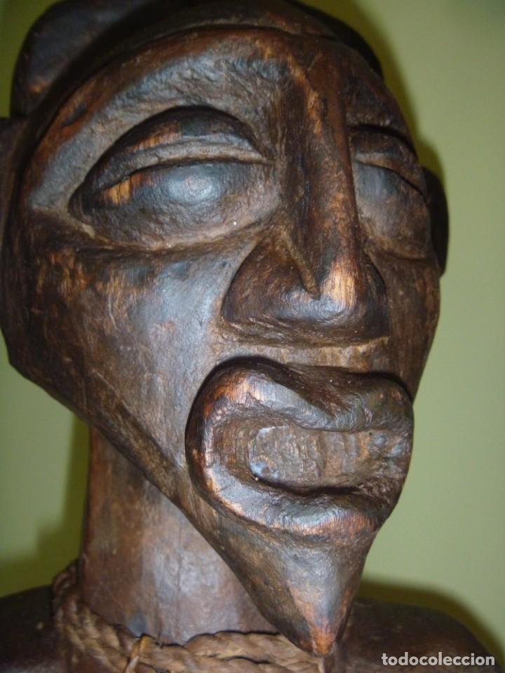 Arte: Impresionante Fetiche Nkisi Songye Congo 150 años Nkisi Songye fetish Congo 150 years Museum piece - Foto 27 - 263155640