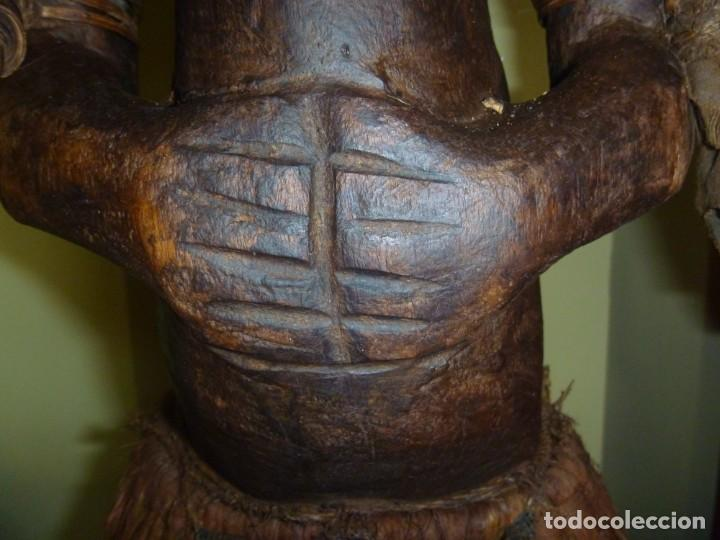 Arte: Impresionante Fetiche Nkisi Songye Congo 150 años Nkisi Songye fetish Congo 150 years Museum piece - Foto 31 - 263155640