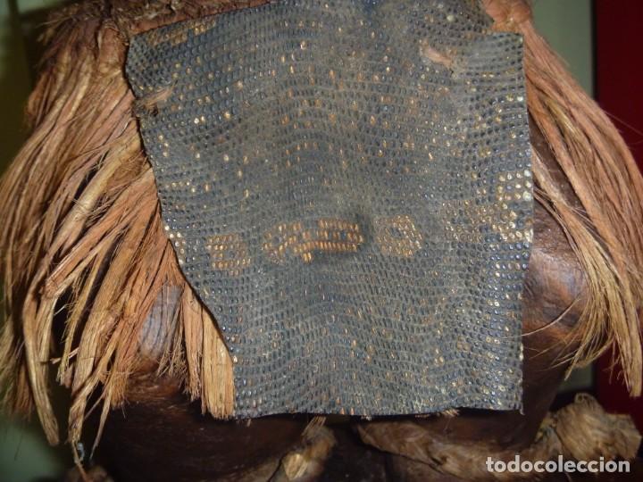Arte: Impresionante Fetiche Nkisi Songye Congo 150 años Nkisi Songye fetish Congo 150 years Museum piece - Foto 33 - 263155640