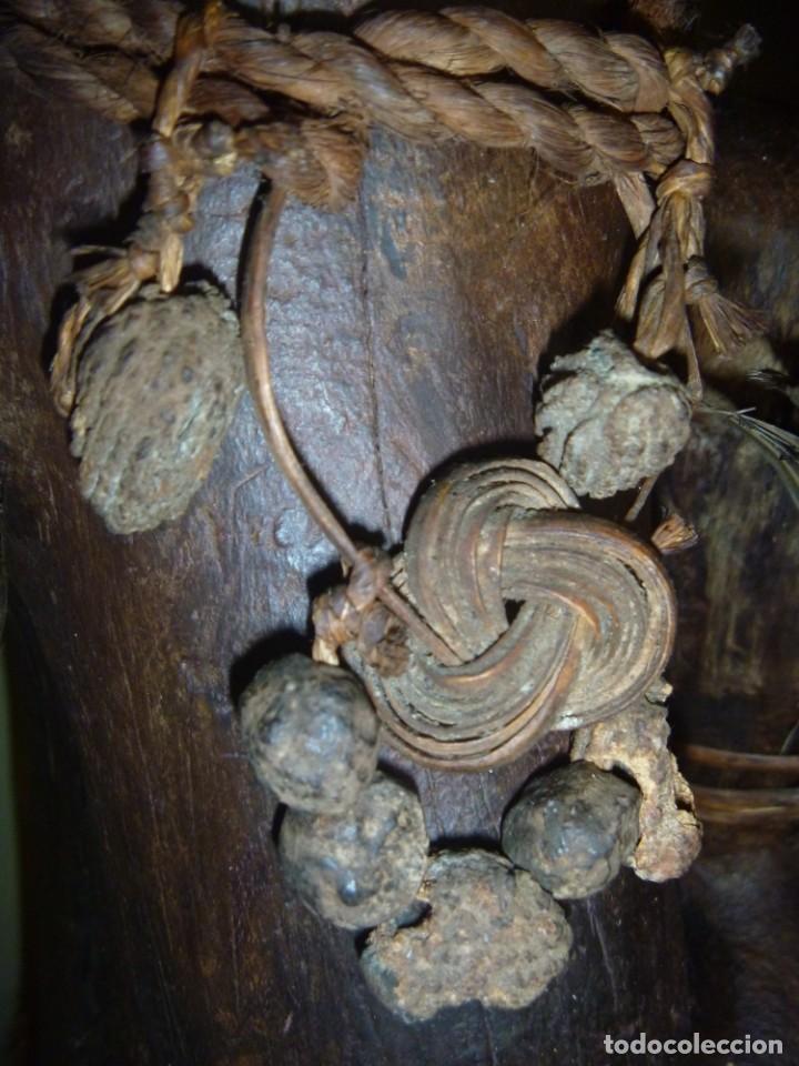 Arte: Impresionante Fetiche Nkisi Songye Congo 150 años Nkisi Songye fetish Congo 150 years Museum piece - Foto 36 - 263155640