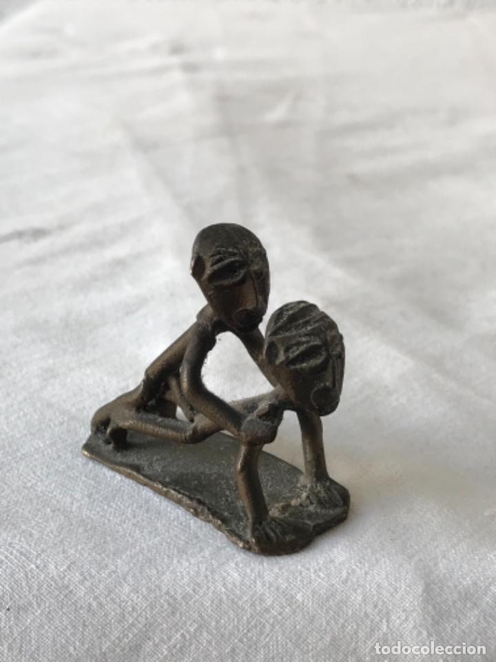 Arte: Arte erótico africano de Bronce - Foto 4 - 265129039