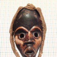 Arte: ANTIGUA AUTENTICA MASCARA AFRICANA MADERA ETNIA DAN, COSTA DE MARFIL, S XX. Lote 269005674