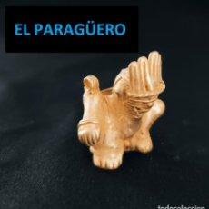 Arte: FIGURA INDIO VIEJO CANASTERO DE ORO TUMBAGA PESO 25 GRAMS VALE PARA COLGANTE PRECOLOMBINO QUIMBAYA. Lote 270187438
