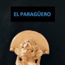 Arte: FIGURA DE CHAMAN ZOOMORFICO DE ORO TUMBAGA PESO 31 GRAMS VALE PARA COLGANTE PRECOLOMBINO QUIMBAYA. Lote 270187503
