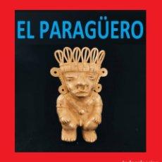 Arte: FIGURA DE ORO TUMBAGA PESO 75 GRAMOS ES UN GRAN CHAMAN ZOOMORFICO PRECOLOMBINO QUIMBAYA. Lote 270188253