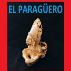 Arte: FIGURA DE ORO TUMBAGA PESO 123 GRAMOS ES UN INDIO CANASTERO PRECOLOMBINO QUIMBAYA. Lote 270188818