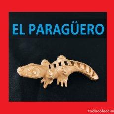 Arte: FIGURA DE ORO TUMBAGA PESO 30 GRAMOS ES UN COCODRILO PRECOLOMBINO QUIMBAYA. Lote 270189658