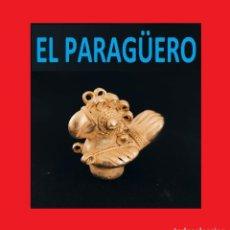 Arte: FIGURA DE ORO TUMBAGA PESO 27 GRAMOS ES UN PAJARO REAL PRECOLOMBINO QUIMBAYA. Lote 270189903