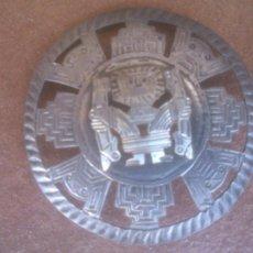 Arte: ANTIGUO BROCHE DIOS MAYA O AZTECA.. Lote 273773133