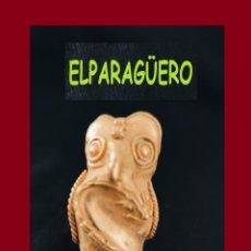 Arte: FIGURA DE ORO TUMBAGA PESO 40 GRAMOS ES UN BUHO CAZANDO CULEBRA ANTROPOMORFO PRECOLOMBINO QUIMBAYA. Lote 276045793