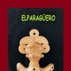 Arte: FIGURA DE ORO TUMBAGA PESO 25 GRAMOS ES UN COLGANTE ZOOMORFICO PRECOLOMBINO QUIMBAYA. Lote 276046123