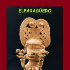 Arte: FIGURA COLGANTE DE ORO TUMBAGA PESO 103 GRAMOS ES UN CHAMAN ZOOMORFICO PRECOLOMBINO QUIMBAYA. Lote 276048348