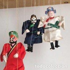 Art: PEQUEÑAS MARIONETAS TITERES OPERA CHINA DE HILOS. Lote 276056073