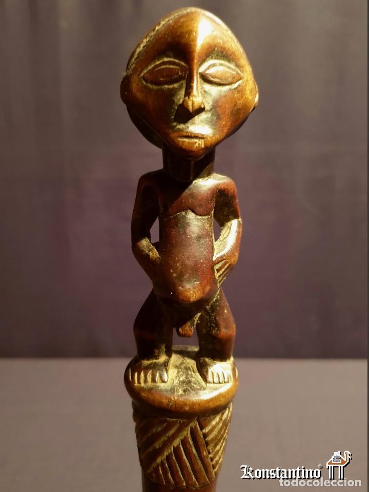 CETRO DE REY ANTIGUO LUBA (Arte - Étnico - África)