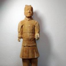 Arte: TERRACOTA CHINA ,GUERRERO DE XIAN ,57 CM ALTURA,. Lote 277156258