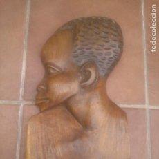 Arte: TALLA ROSTRO INDIGENA AFRICANO. Lote 277518008