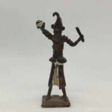 Arte: ESCULTURA ANTIGUA DE MAGO AFRICANO DOGÓN EN BRONCE, HECHA A MANO POR NATIVOS DE MALÍ .. Lote 283182128
