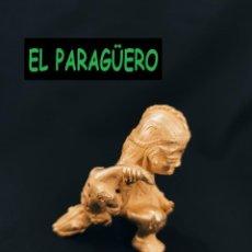 Arte: FIGURA DE ORO TUMBAGA PESO 97 GRAMOS ES UN CAZADOR DE COCODRILOS PRECOLOMBINO QUIMBAYA. Lote 288228118