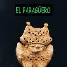 Arte: FIGURA DE ORO TUMBAGA PESO 87 GRAMOS ES UN HUMANOIDE ZOOMORFICO PRECOLOMBINO QUIMBAYA. Lote 288229833