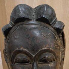 Arte: ARTE AFRICANO. MASCARA DE LA CULTURA BAOULÉ (COSTA DE MARFIL). C. 1950. Lote 290949348