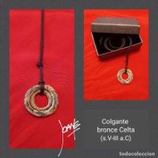 Arte: COLGANTE BRONCE CELTA (S.V-III A.C) JOANE DO CRISTO. Lote 294082118