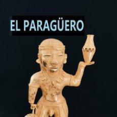 Arte: FIGURA DE ORO TUMBAGA PESO 373 GRAMOS ES UN INDIO OCHITA PRECOLOMBINO QUIMBAYA. Lote 294112703