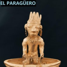 Arte: FIGURA DE ORO TUMBAGA PESO 325 GRAMOS ES UN HOMBRE PESCADOR PRECOLOMBINO QUIMBAYA. Lote 294112903