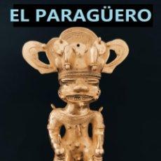 Arte: FIGURA DE ORO TUMBAGA PESO 381 GRAMOS ES UN HUMANOIDE ZOOMORFICO PRECOLOMBINO QUIMBAYA. Lote 294112958