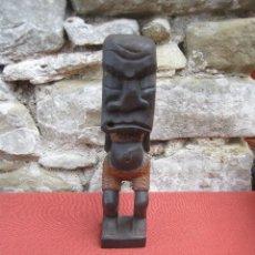 Arte: CURIOSA ESTATUA AFRICANA. Lote 294857438