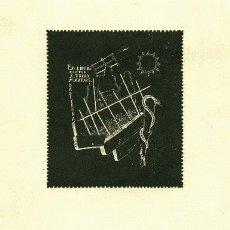 Arte: EX LIBRIS MEDICO 1954 / DOCTOR A. TRIAS MAXENCS. Lote 27462860