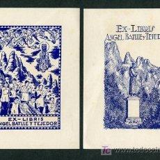 Arte: ARTISTA *J. MAS* PROPIEDAD: ANGEL BATLLÉ TEJEDOR. MEDS. PAPEL: 101 X 141 MMS. LOTE 12 DIFERENTES.. Lote 10613236