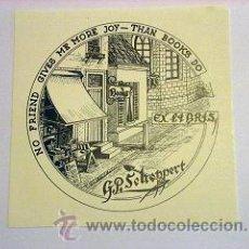 Art: BONITO EXLIBRIS. Lote 26991412