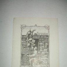 Arte: EX LIBRIS. Lote 16857419