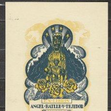 Arte: A24-EXLIBRIS ANTIGUOS MONSERRAT A PLOMA,MONSERRATINS,VEAN JOAN ANGLADA VILLÁ. Lote 19369667