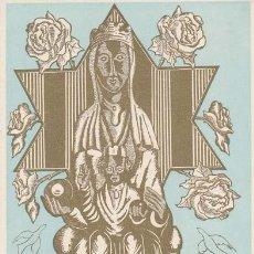 Arte: JOSEP DE RIQUER. EX-LIBRIS DE ANGEL BATLLE Y TEJEDOR. 1951. 7X10.5. EX-LIBRIS. EX-LIBRIS. EXCELENTE . Lote 26521458