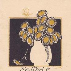 Arte: L.G.F.. EX-LIBRIS DE CONXITA BATLLE. 6X8.5. EX-LIBRIS. EX-LIBRIS. EXCELENTE EX - LIBRIS DE CONXITA B. Lote 159533522