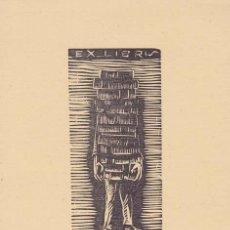 Arte: EX-LIBRIS DE J. FISAS. 8X11. EX-LIBRIS. EX-LIBRIS. EXCELENTE EX - LIBRIS DE J. FISAS/ TC/ A. Lote 51012194