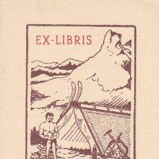 Arte: EX-LIBRIS DE JOAN BATLLE. . 7X10.5. EX-LIBRIS. EX-LIBRIS. NORMAL EX-LIBRIS DE JOAN BATLLE/ TC/ A. Lote 26582225