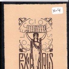 Arte: EX- LIBRIS - VICENTE MARTINEZ BOSCH - (X-4). Lote 27902890