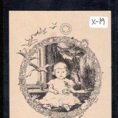 Arte: EX- LIBRIS - MARIA - (X-19). Lote 27903870