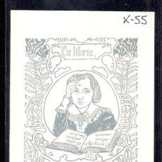 Arte: EX- LIBRIS - (X-55). Lote 27904930